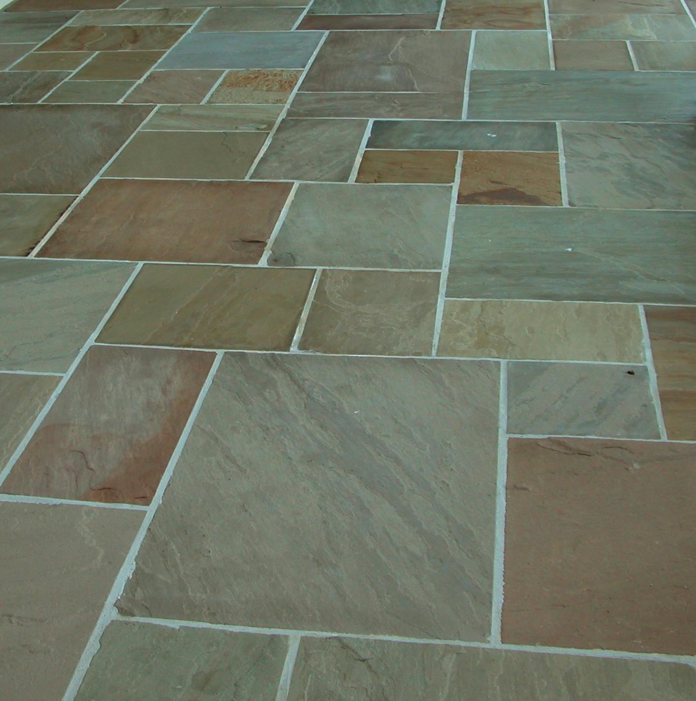 600 Msp 19 50 M2 Raj Green 22 Mm Calibrated Sandstone
