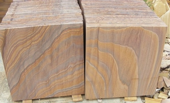 600 Patio Pack 19 50m2 Rainbow Smooth Sawn Sandstone